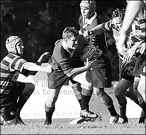 Buster McCowatt is set to be the link man between the forwards and backs in today?s rugby major semi-final.