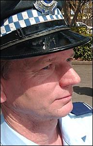 Senior Constable Bret Loveday.