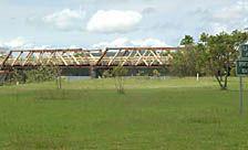 The Sportsmans Creek Bridge.