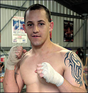 Ricky Nelson ready for his professional boxing debut in Coffs Harbour later this year.
