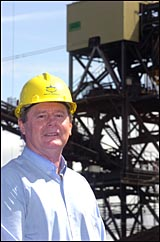 Ted Michel started work for the Central Queensland Port Authority more than 40 years ago