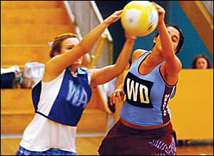 Grafton High School?s sensational netball form this season entitles them to favouritism in their search for an elusive Daily Ex