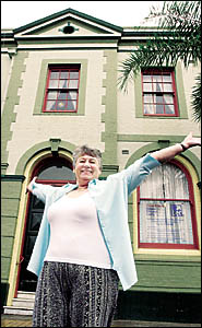 TROUBLEMAKER? Pam Brayley, president of the Casino Ratepayers and Residents Association, has rejected claims she?s holding back