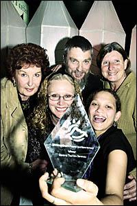 Tourism award winners
