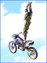 Freestyle exponent Chris Thomsen is certain to thrill the crowd at Saturday?s Stadium Motocross