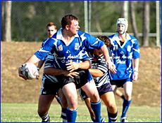 Scott Lowry was one Valleys player who showed the Diehards spirit in 2005.
