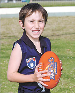 Callum Podbury will be part of the action at the MCG today