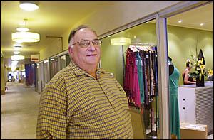 Lismore Arcade owner Peter Coronakes