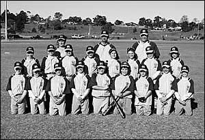 The Coffs Harbour under-12 representative baseball team