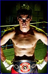 Gladstone boxer Ben McEachran overcame Zig Zag Wallace of New Zealand in Bendigo last Saturday.