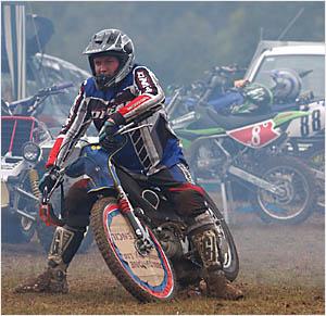 Grafton rider Wayne Critchley