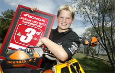Blackwater motocross rider Jake Gook has one more title plate in his sights this year.