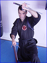 Rob McIntyre is aiming for fourth degree black belts in Muay  Thai and Zen Bushi Ryu Freestyle.