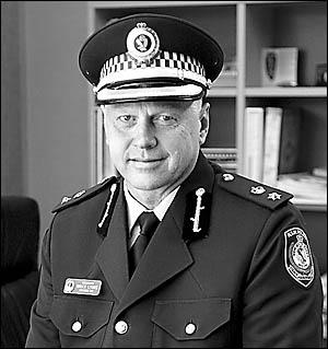 Richmond Local Area Command Superintendent Bruce Lyons.