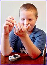 Nine-year-old Jackson Ibbotson?s life revolves around his blood sugar levels