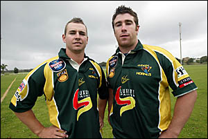 NEW Cudgen signings, former Rabbitoh Tim Mason and ex-Jersey Flegg Rooster Todd Skinner will team up together next year as the