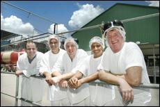 Marcelo Nicolau Cury, slicer Dogeual Fernandes, Lyle Ward, Carlos Pereira Da Silva and Lyle Burrows.