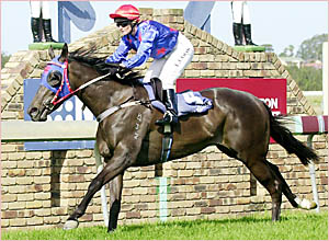 Lorna Cook rides the favourite Mehi Belle