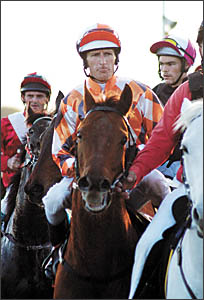 Former Coffs Harbour jockey Glen Colless has his first ride in a Melbourne Cup on the John Morrissey-trained four-year-o