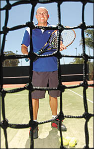 Coffs Harbour Tennis Club manager Danny Sousa wants to continue developing junior players.