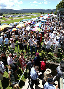 AN estimated crowd of 7000 flocked to Tweed River Jockey Club?s Tygalgah course for yesterday?s Melbourne Cup Day.