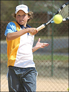 Westside Tennis Club junior Jarran Pfefferkorn produced an outstanding display in the NSW State Classic finals held at Gosford.