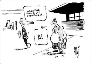 Cartoon by Paul Zanetti