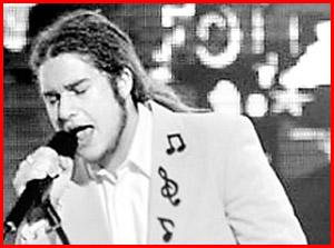 Dan England ... robbed of his Australian Idol dream.