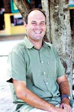 Bundaberg Surf Life Saving Club chief training officer Martin Cole.