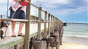 Sue Hutchinson has seen dramatic changes during the 63 years she has lived at the Jetty, watching it change from a working clas