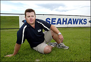 Tugun Seahawks president Dean Glover has seen his team go from 2004 premiers to having an unknown future in 2006.