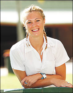 Woolgoolga High School's Beth Van der Waal predicts a move to a capital city to make the most of her ability.