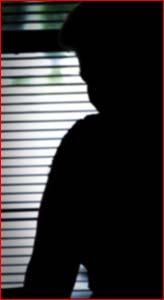 Domestic violence victim, 'Lisa'. Image: KATIE FINN