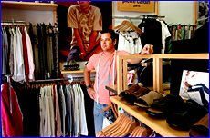 Justin Michell from E-Male Lifestyle is frustrated by recent shoplifting thefts from his store.
