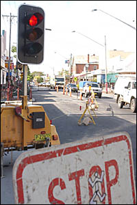 Some Maclean businesses are crying foul over the loss of Christmas trade caused by River Street roadworks. The street is being