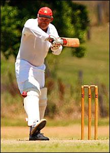 Grafton veteran cricketer John Frame.
