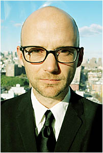 SPLENDID: International performer Moby was one of the acts at this year?s Splendour in the Grass.