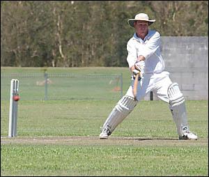 Harwood?s Luke Harridine in action against Wanderers.