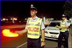 Gladstone police continue the battle against drink drivers even though the public thinks the courts treat offenders leniently.