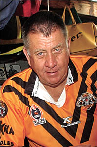 Barry Nicholls has been rewarded for many years of service to Group 2 Rugby League.