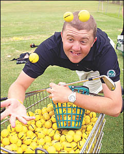 Adam Wood has taken up a new position as the coach at the Coffs Harbour Driving range.
