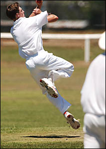 Representative cricketer Rohan Hackett is the fast bowling spearhead for his club Westlawn and Grafton High School.