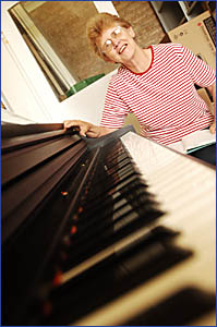 WHEN THE MUSIC?S OVER: Connie de Dassel is retiring from teaching music at St James Primary School.
