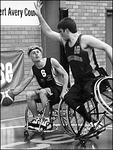 Bill Latham has been named in the Australian wheelchair basketball team.