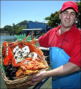 ENJOY fresh local seafood says Jim Stamoudis of Jimbo?s Seafoods in Tweed.