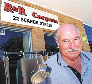 Bob Burns has had a long-time love affair with Sawtell Golf Club. Photo: BRENDANRAY 05122624A