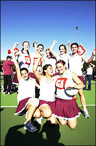 Daleys Tribes in Lismore netball.