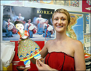 o WOLLUMBIN High School graduate Mindi Newell will spend the next four years studying Korean language in South Korea after scor