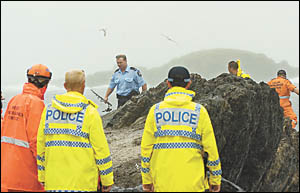 Police and State Emergency Service recovered the body of a recreational angler who drowned at South Wall yesterday, after falli