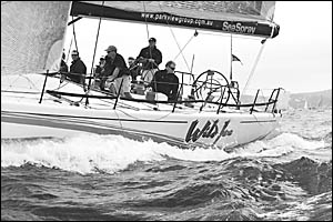 Wild Joe gave her rivals a clean pair of sails to win the Pelican and Nautilus Resorts Solitary Island race.
